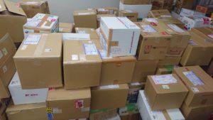 全国から届いた大量のゆめポッケ